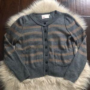 Yoon Striped Cardigan Sweater